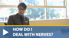 dealing with nerves