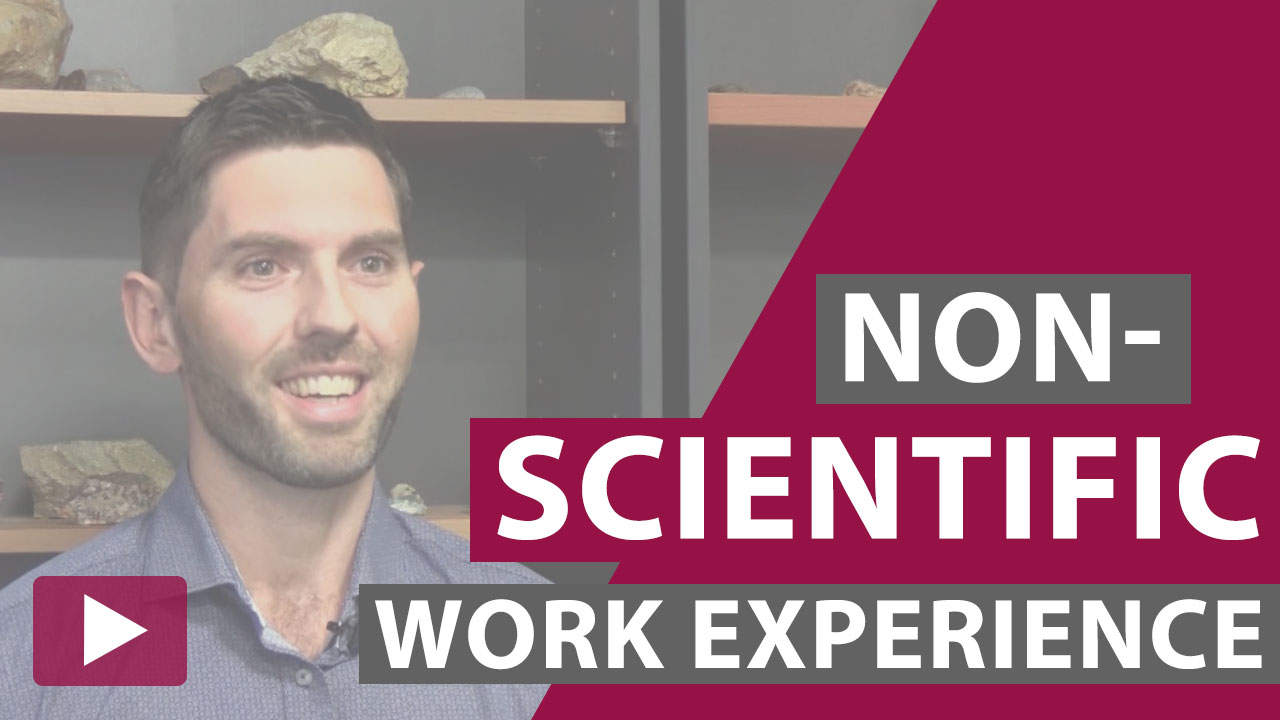 non-scientific work experience