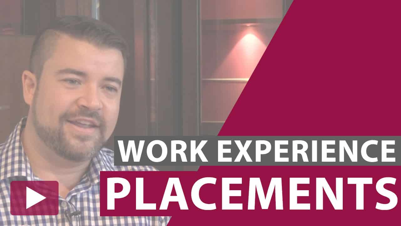 work experience placements video thumbnail