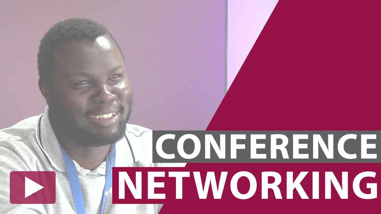 conference networking video thumbnail