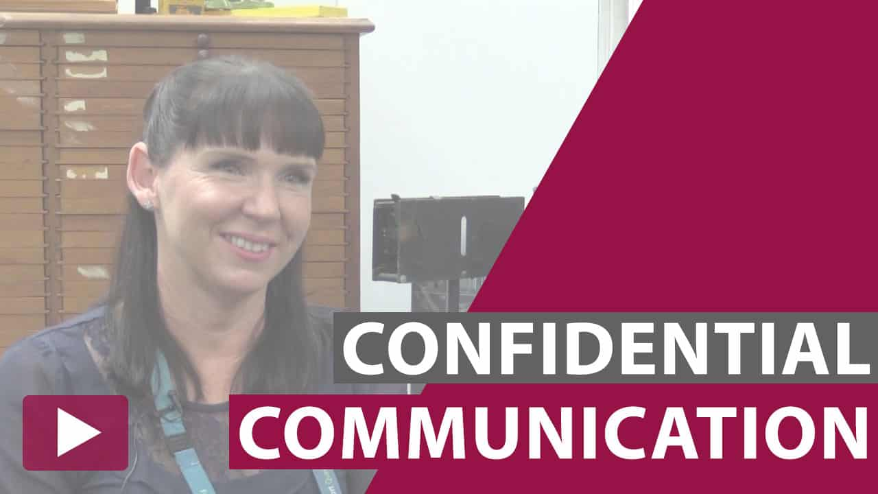 confidential communication video thumbnail