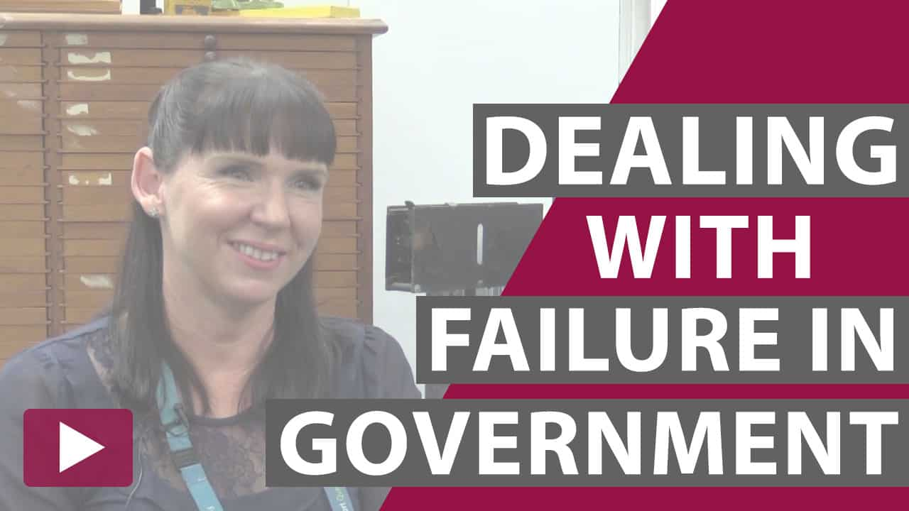 dealing with failure in government video thumbnail