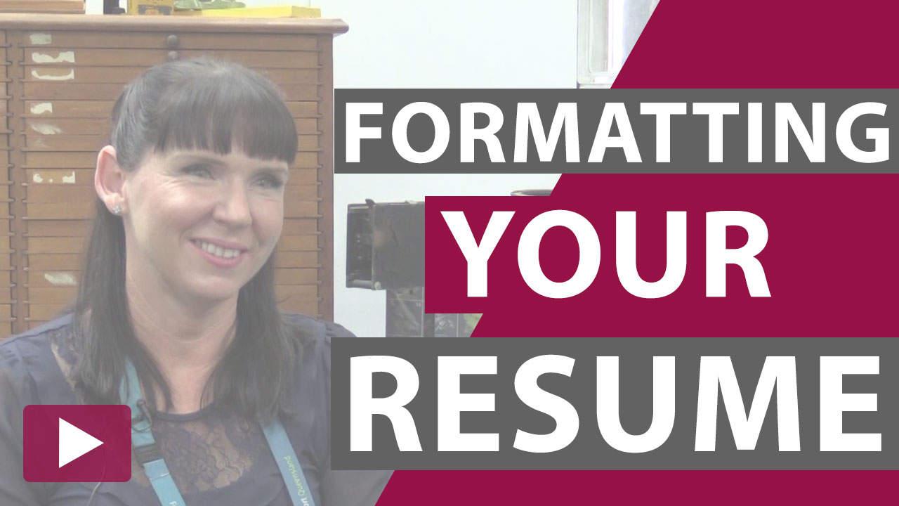formatting science resume thumbnail