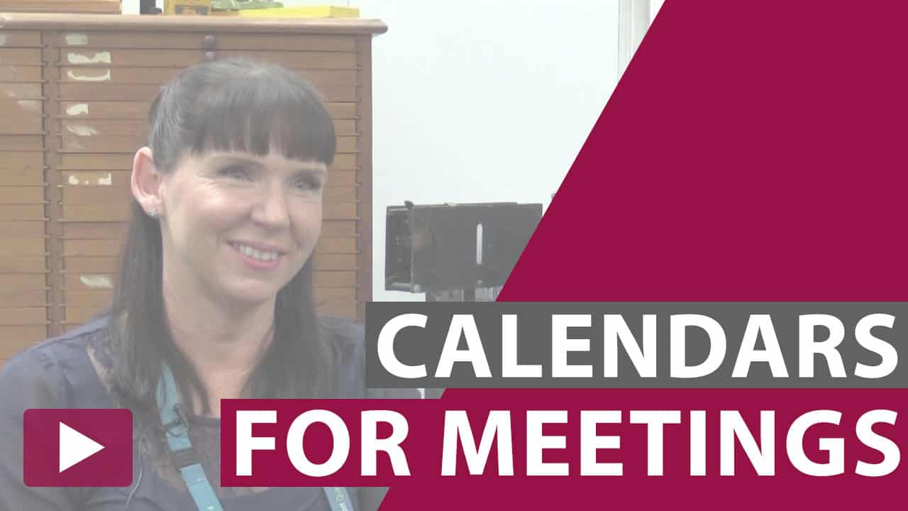 meeting calendar video thumbnail