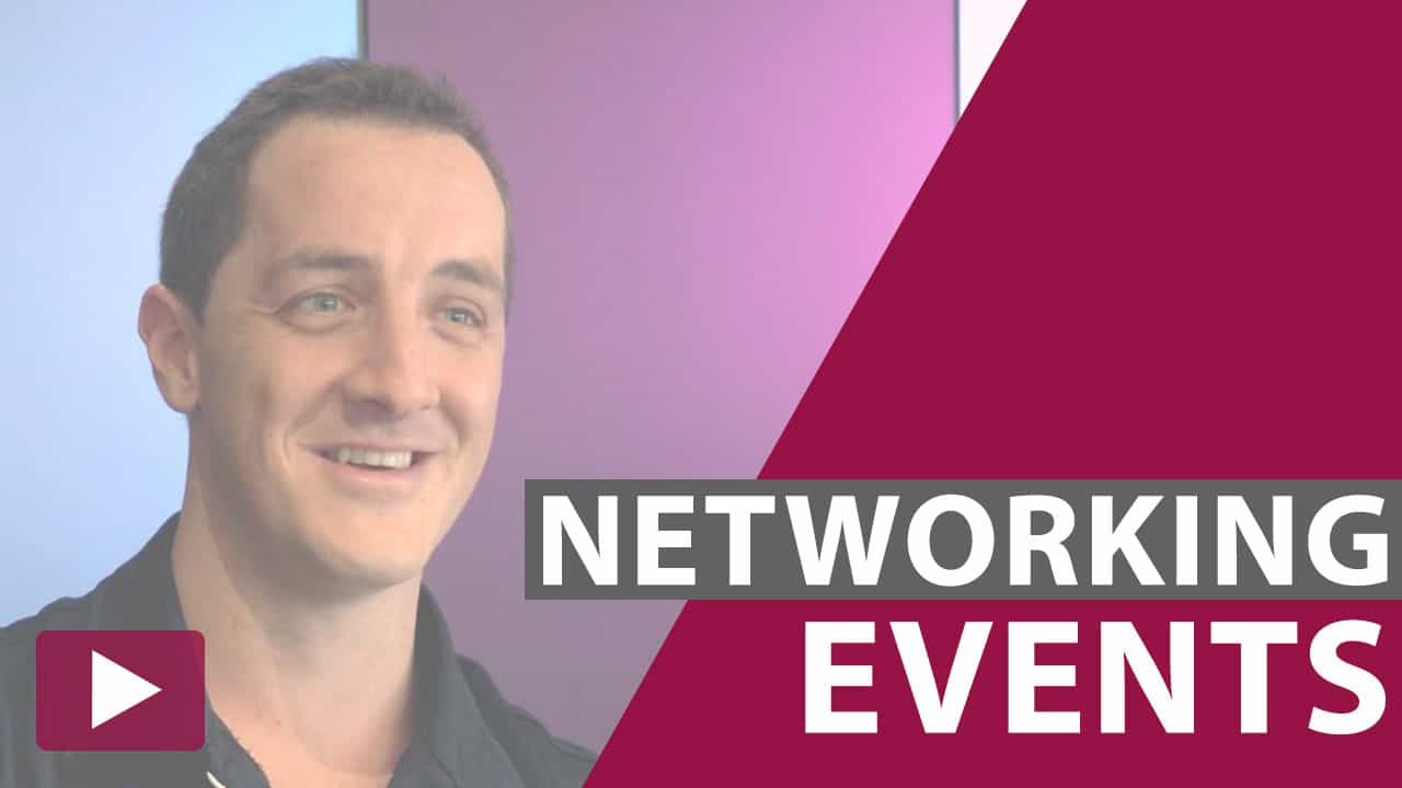networking events video thumbnail