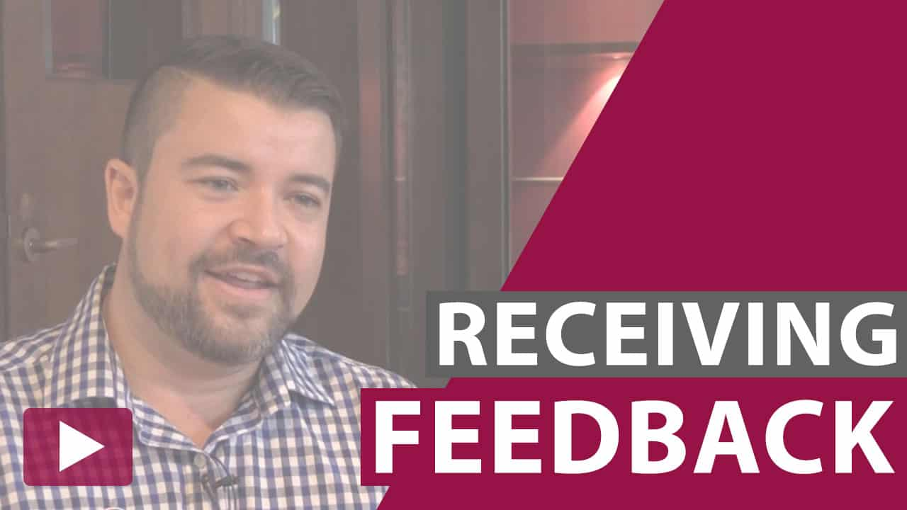 receiving feedback video thumbnail