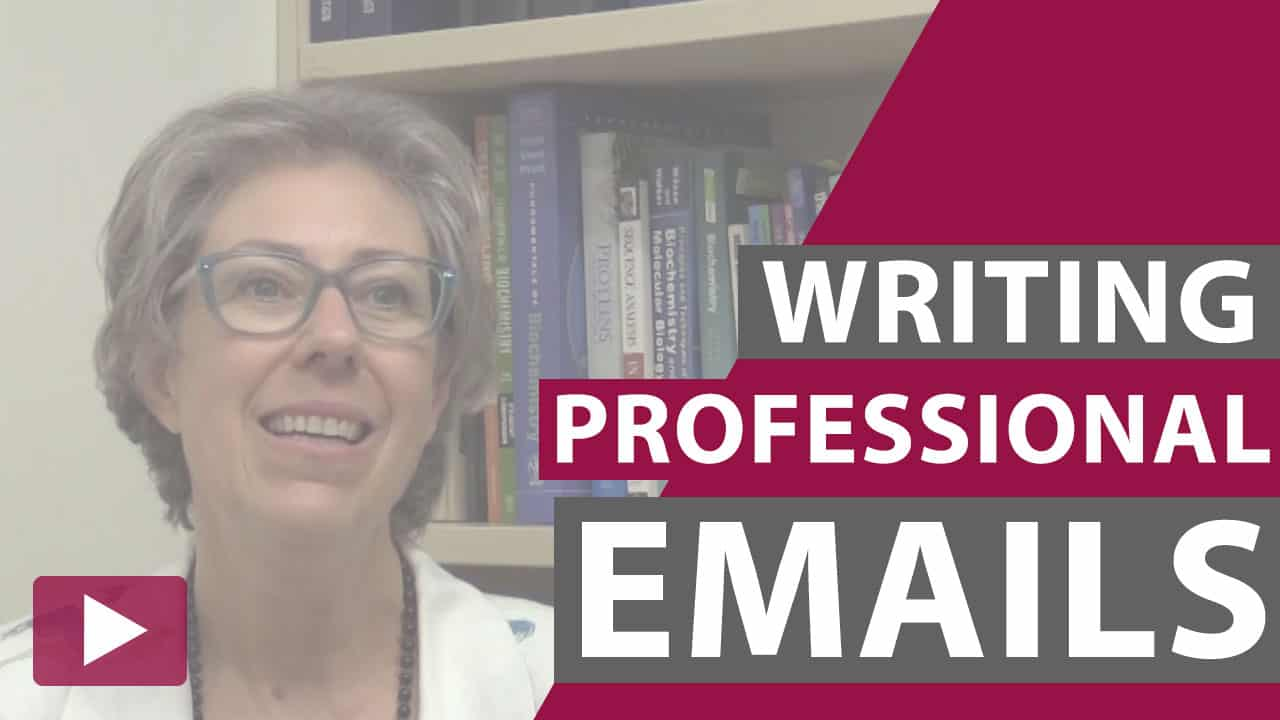 writing professional emails video thumbnail