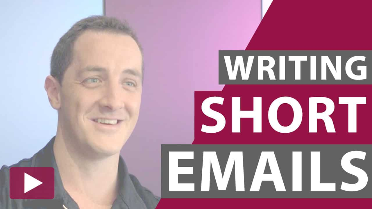 writing short emails video thumbnail